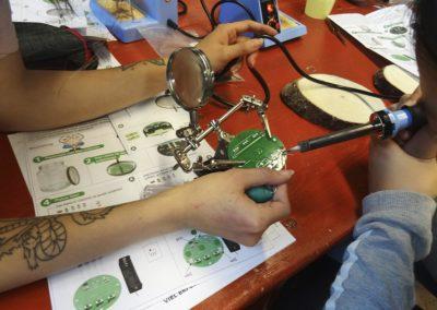 Mädchenaktion Handwerkerinnen Rallye